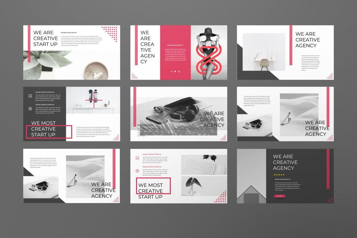 F2 Black Business Google Slide, Slide 2, 06500, Presentation Templates — PoweredTemplate.com