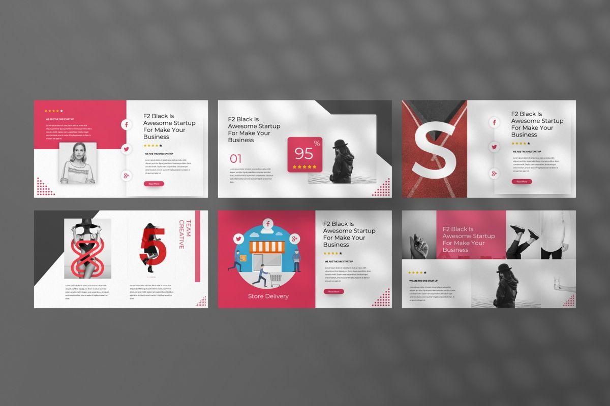 F2 Black Business Google Slide, Slide 4, 06500, Presentation Templates — PoweredTemplate.com