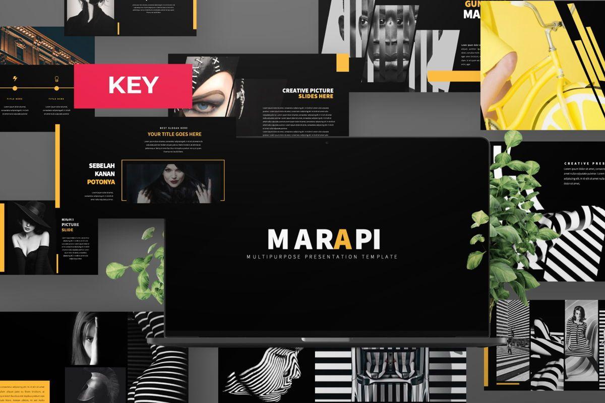 Marapi Creative Keynote, 06502, Presentation Templates — PoweredTemplate.com