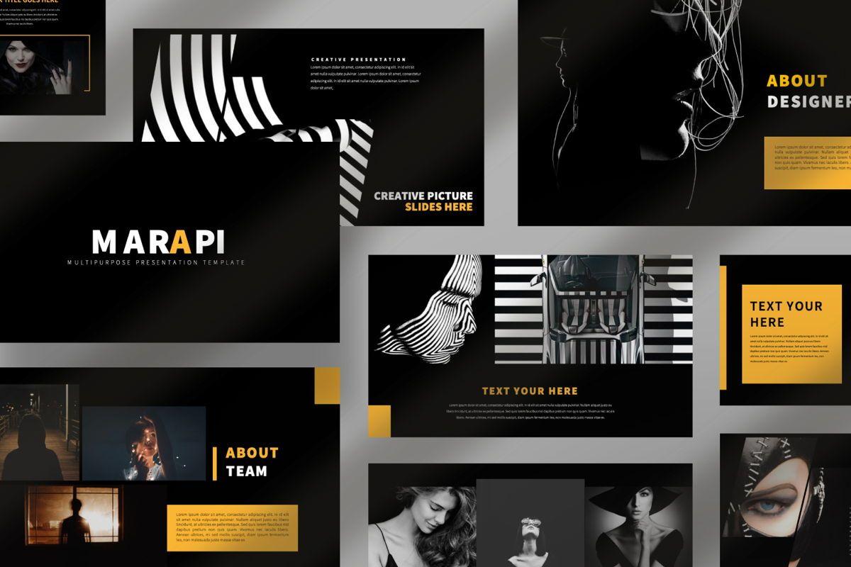 Marapi Creative Google Slide, Slide 10, 06503, Presentation Templates — PoweredTemplate.com