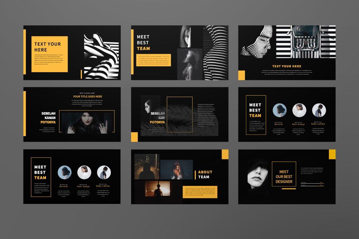 Marapi Creative Google Slide, Slide 3, 06503, Presentation Templates — PoweredTemplate.com