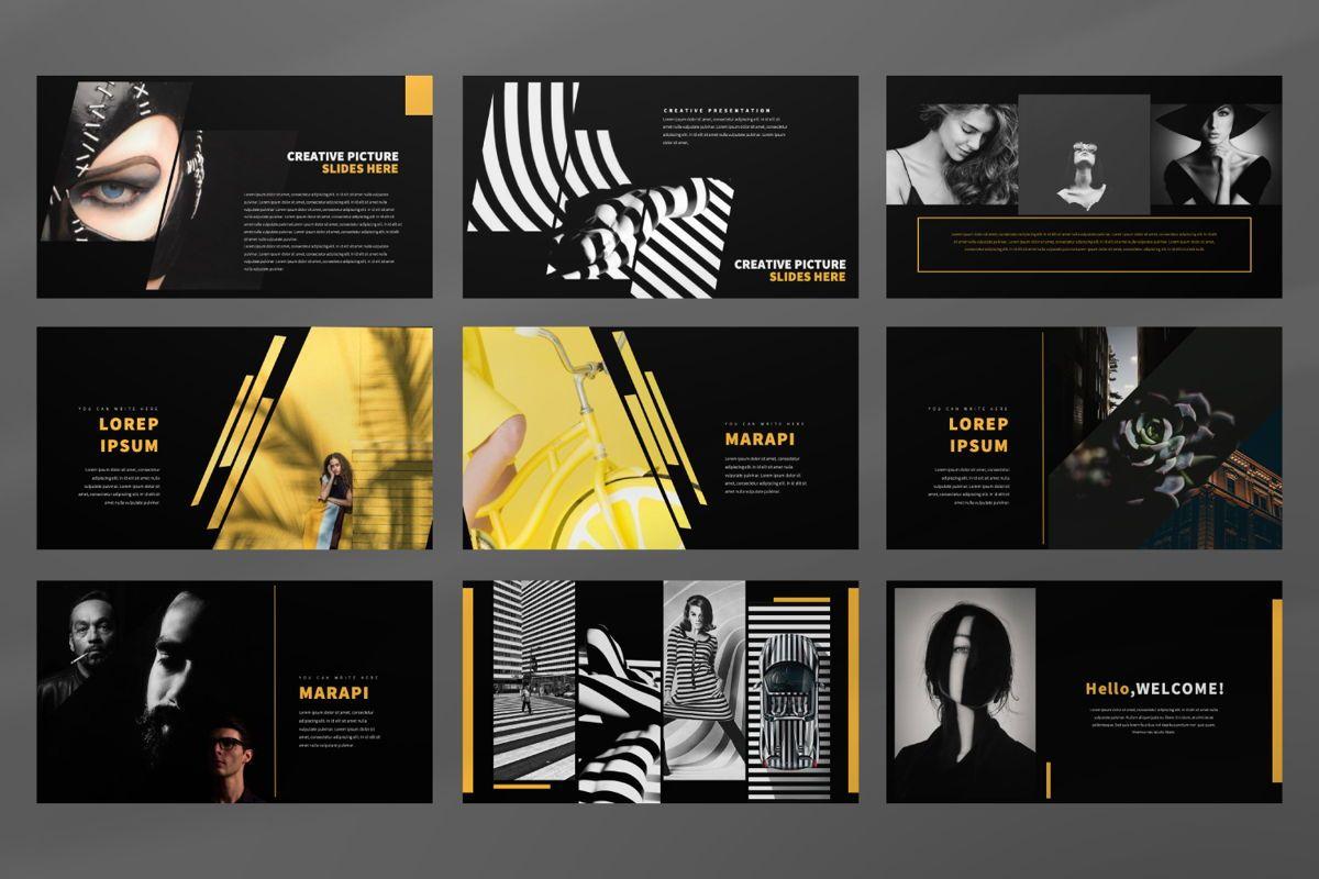 Marapi Creative Google Slide, Slide 4, 06503, Presentation Templates — PoweredTemplate.com