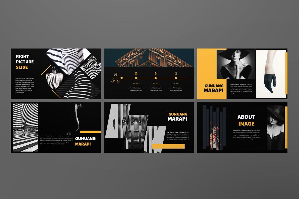 Marapi Creative Google Slide, Slide 7, 06503, Presentation Templates — PoweredTemplate.com