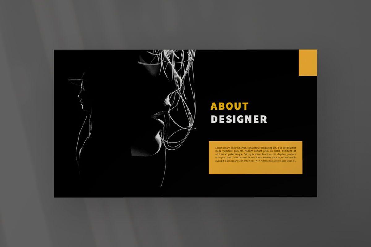 Marapi Creative Google Slide, Slide 8, 06503, Presentation Templates — PoweredTemplate.com