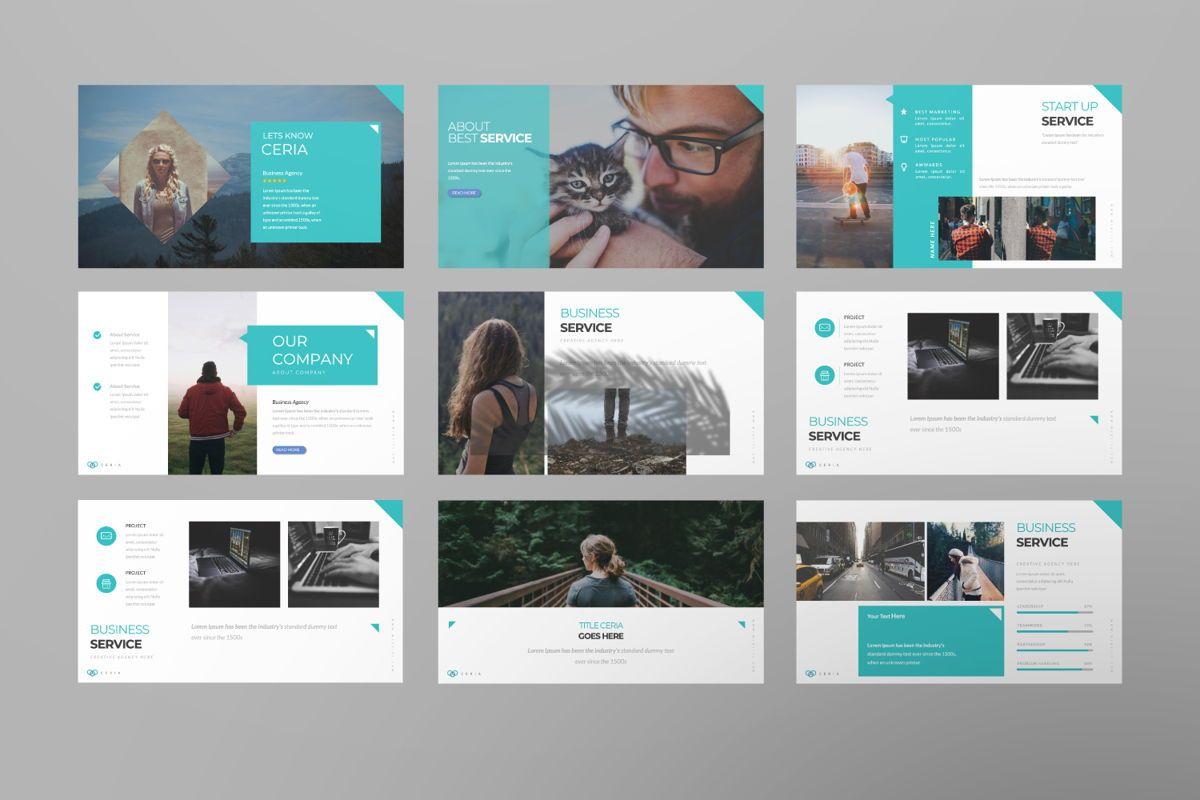 Ceria Creative Google Slide, Slide 2, 06504, Presentation Templates — PoweredTemplate.com
