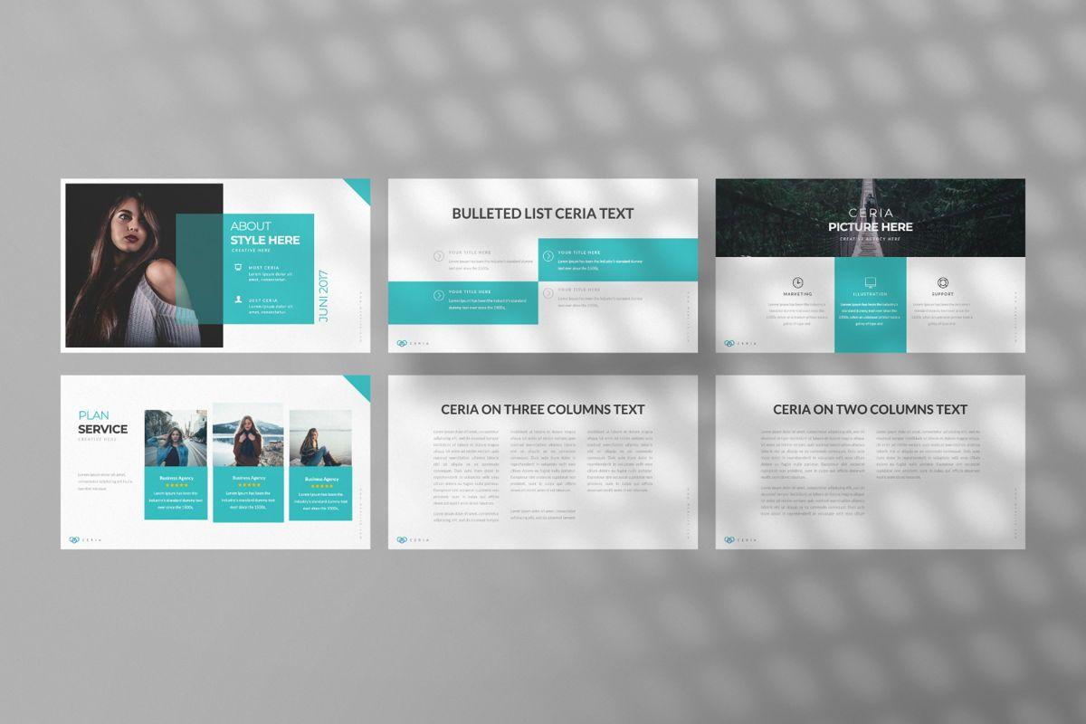 Ceria Creative Google Slide, Slide 4, 06504, Presentation Templates — PoweredTemplate.com