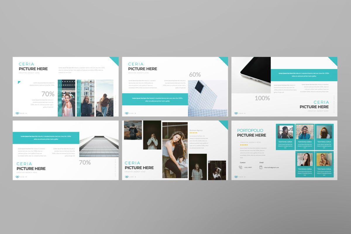 Ceria Creative Google Slide, Slide 5, 06504, Presentation Templates — PoweredTemplate.com