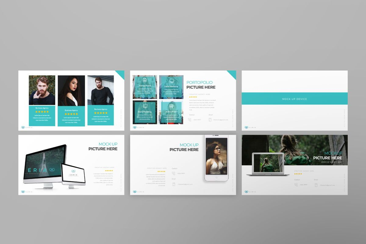 Ceria Creative Google Slide, Slide 6, 06504, Presentation Templates — PoweredTemplate.com