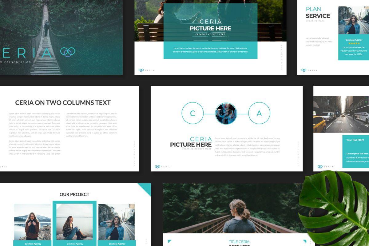 Ceria Creative Google Slide, Slide 8, 06504, Presentation Templates — PoweredTemplate.com
