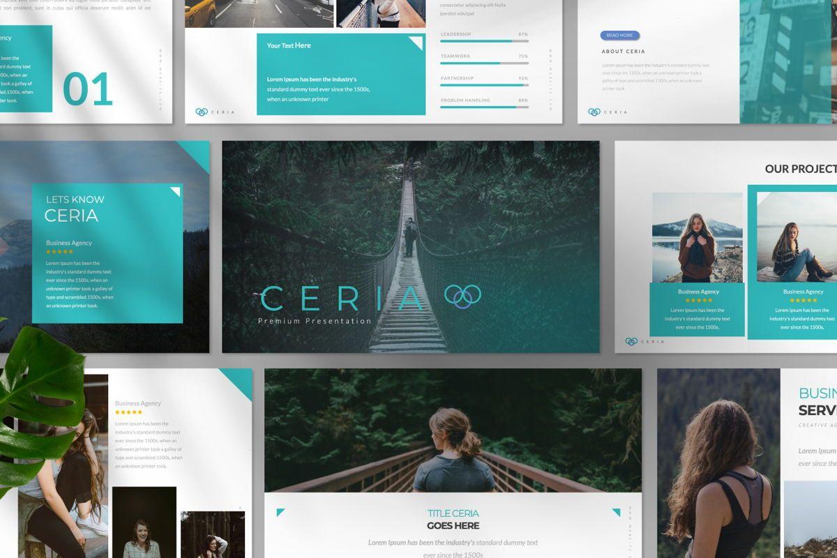 Ceria Creative Keynote, Slide 7, 06505, Presentation Templates — PoweredTemplate.com