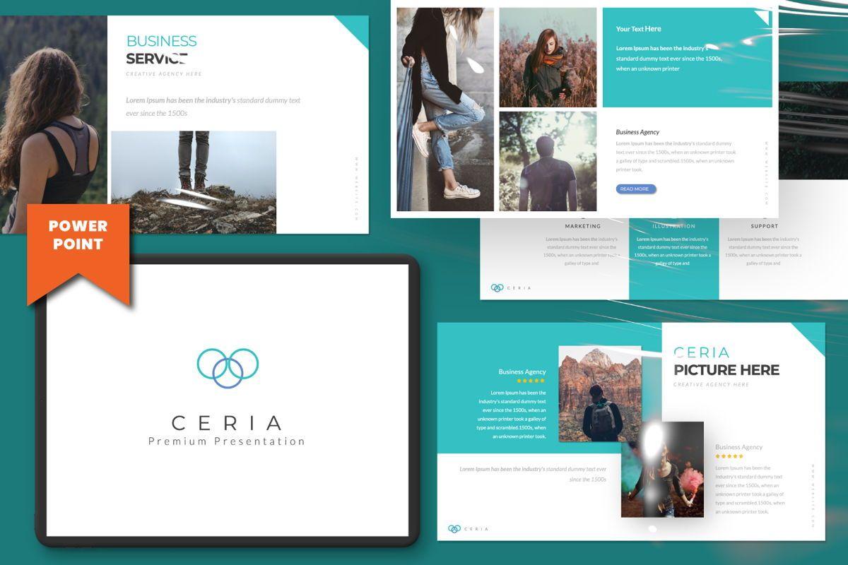 Ceria Creative Powerpoint, 06506, Presentation Templates — PoweredTemplate.com
