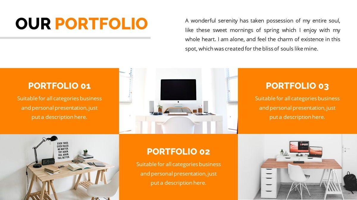 Officescape - Corporate Powerpoint Template, Slide 11, 06507, Business Models — PoweredTemplate.com