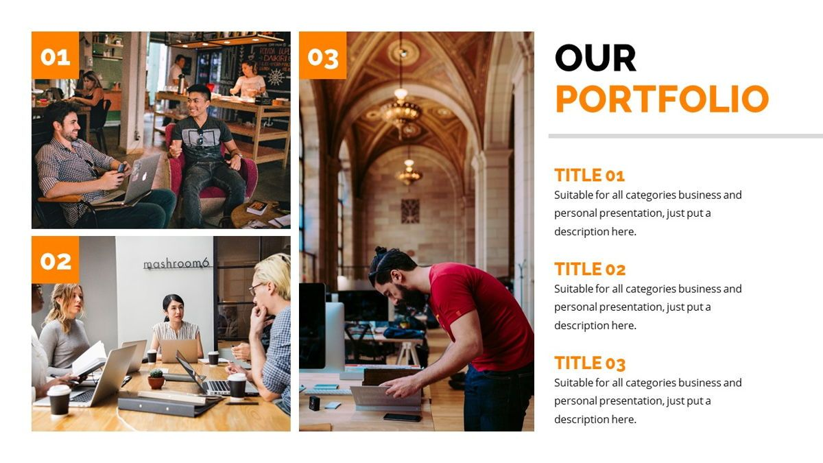 Officescape - Corporate Powerpoint Template, Slide 12, 06507, Business Models — PoweredTemplate.com