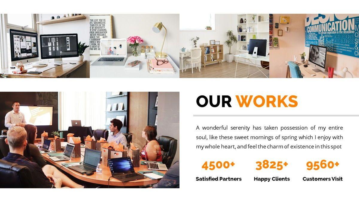 Officescape - Corporate Powerpoint Template, Slide 13, 06507, Business Models — PoweredTemplate.com