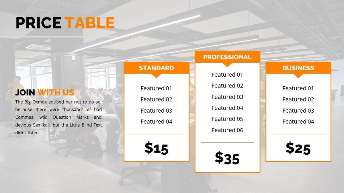Officescape - Corporate Powerpoint Template, Slide 30, 06507, Business Models — PoweredTemplate.com