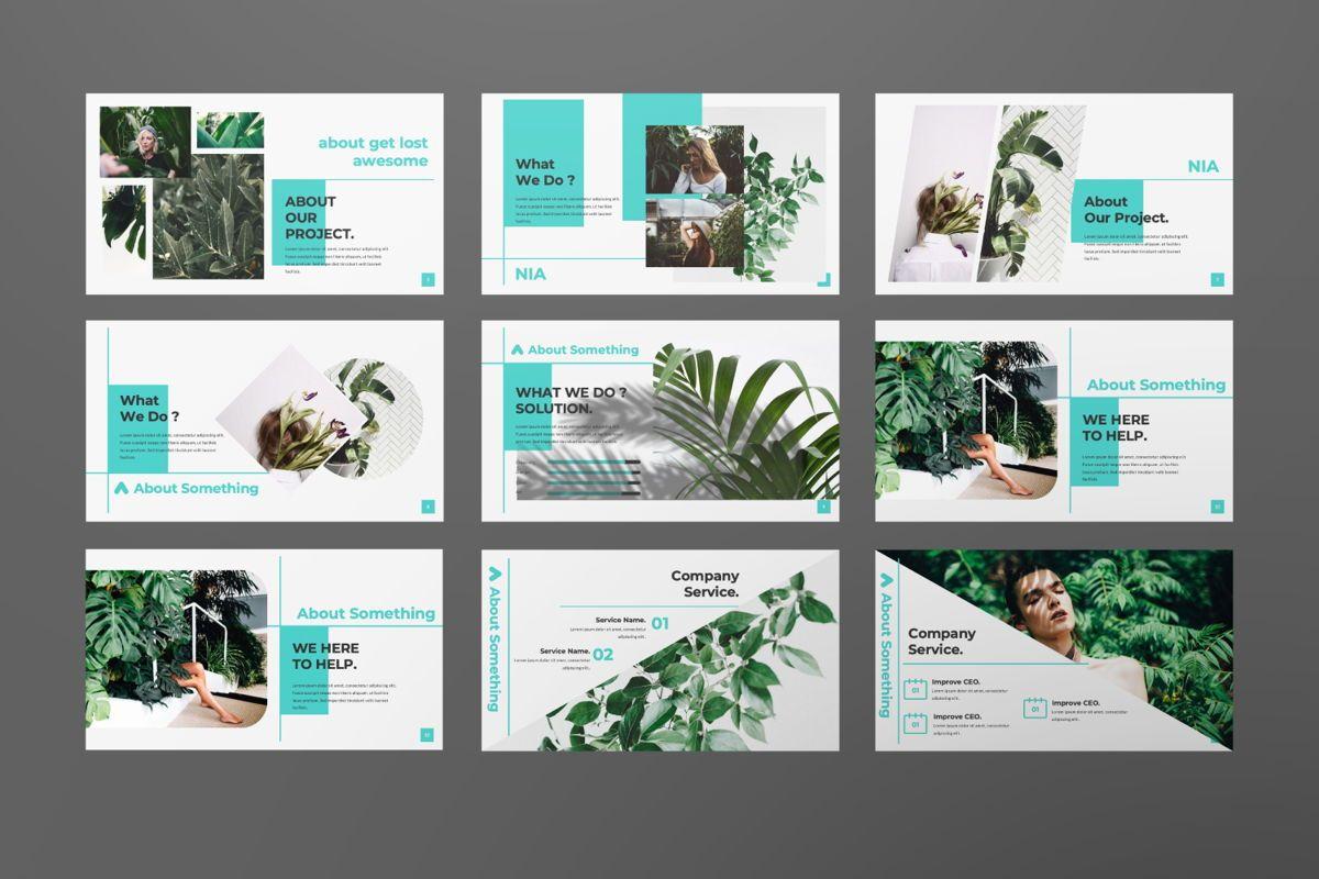 Nia Pitch Deck Google Slide, Slide 2, 06508, Presentation Templates — PoweredTemplate.com