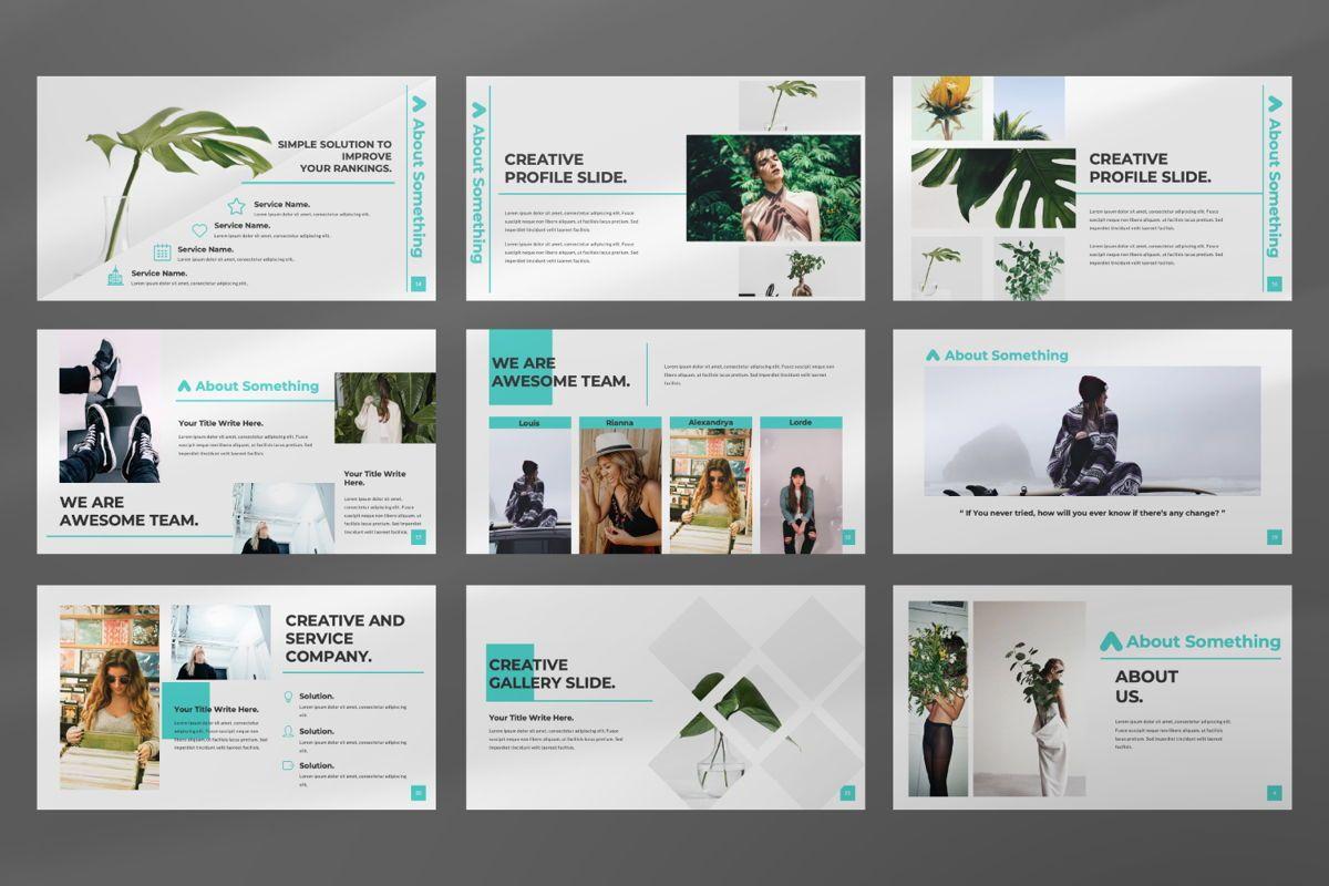 Nia Pitch Deck Powerpoint, Slide 3, 06510, Presentation Templates — PoweredTemplate.com