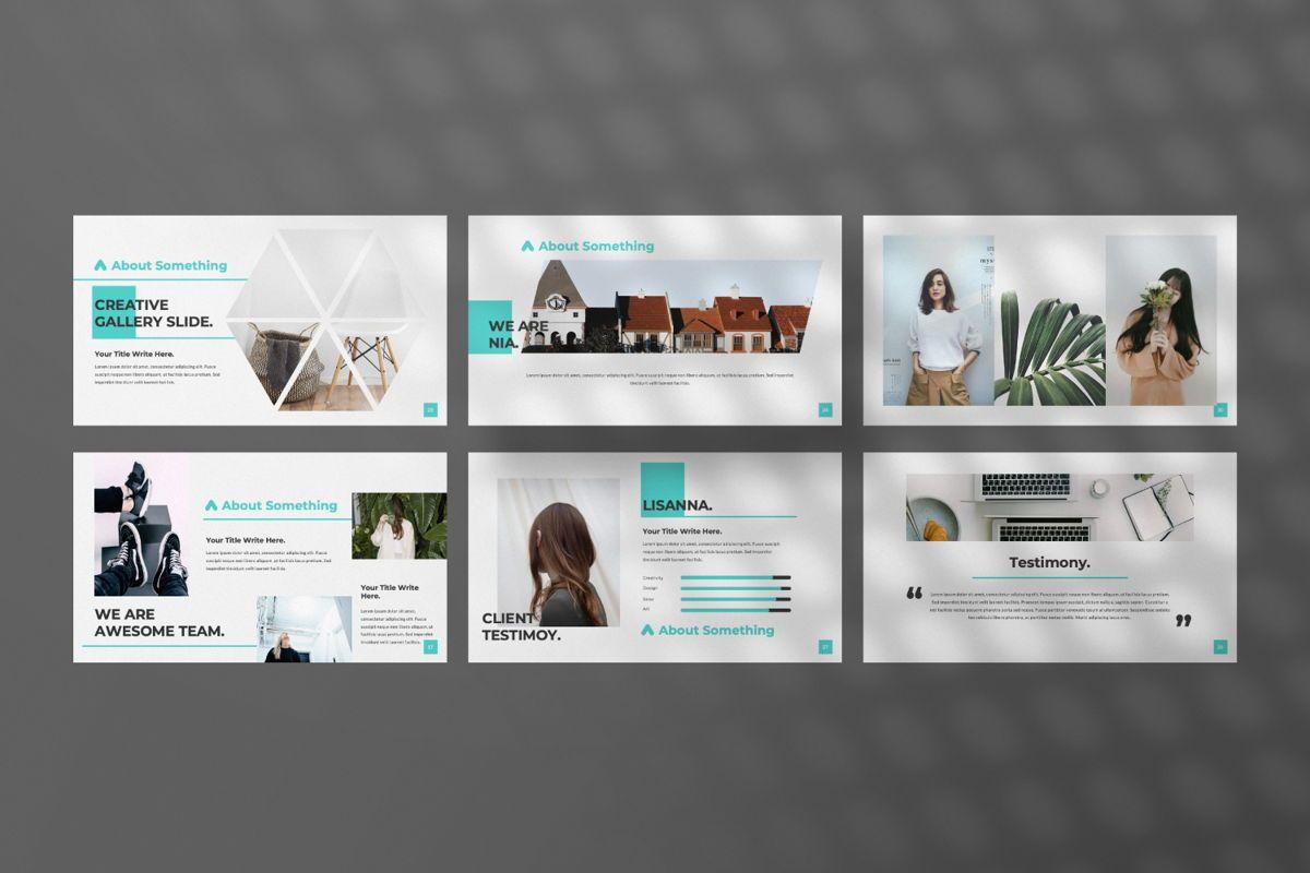 Nia Pitch Deck Powerpoint, Slide 4, 06510, Presentation Templates — PoweredTemplate.com