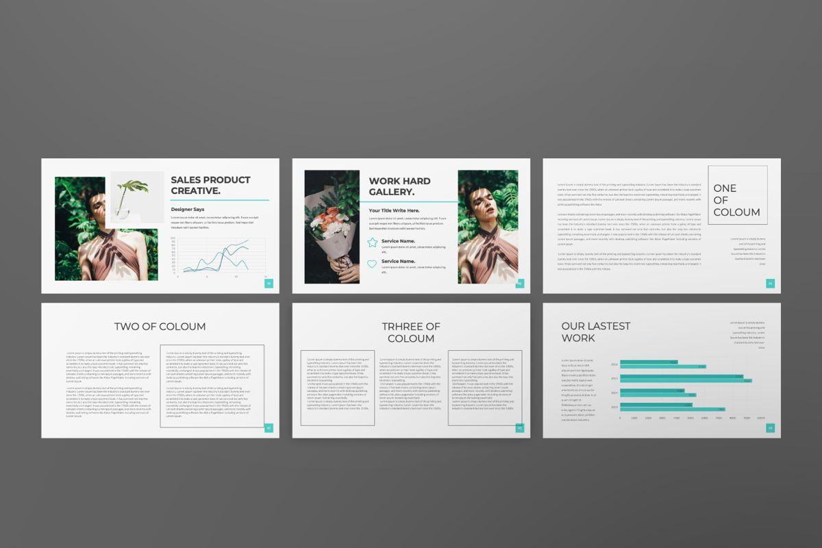 Nia Pitch Deck Powerpoint, Slide 6, 06510, Presentation Templates — PoweredTemplate.com