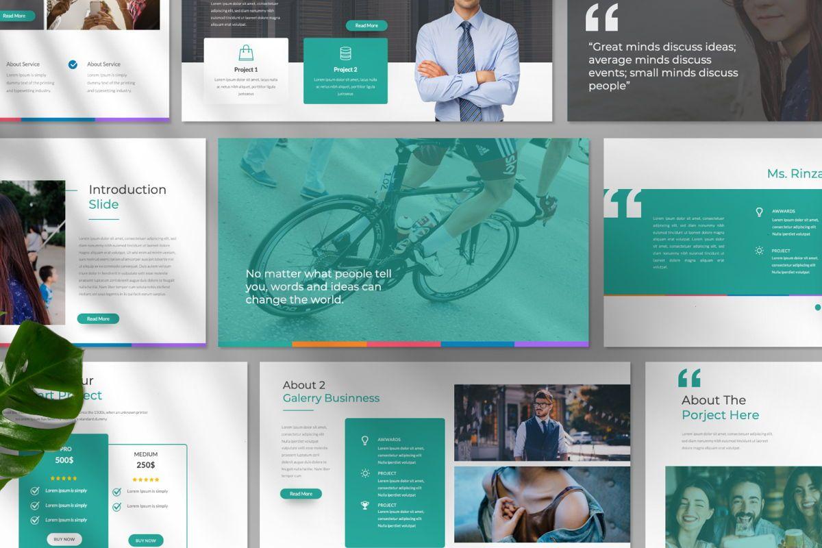 Monogatari Creative Google Slide, Slide 10, 06512, Presentation Templates — PoweredTemplate.com