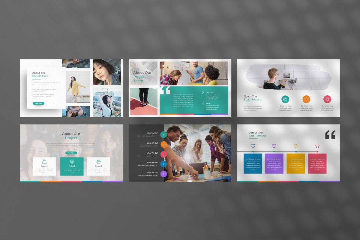 Monogatari Creative Google Slide, Slide 4, 06512, Presentation Templates — PoweredTemplate.com