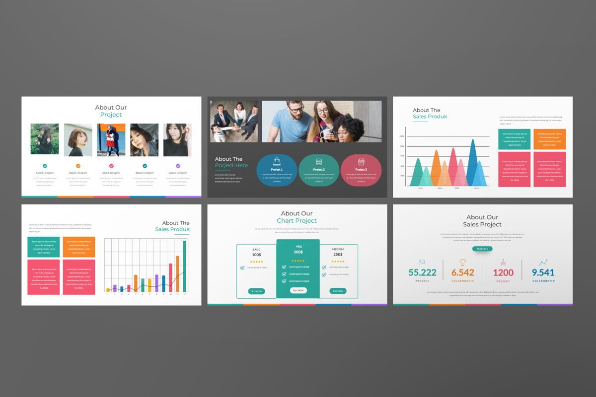 Monogatari Creative Google Slide, Slide 5, 06512, Presentation Templates — PoweredTemplate.com