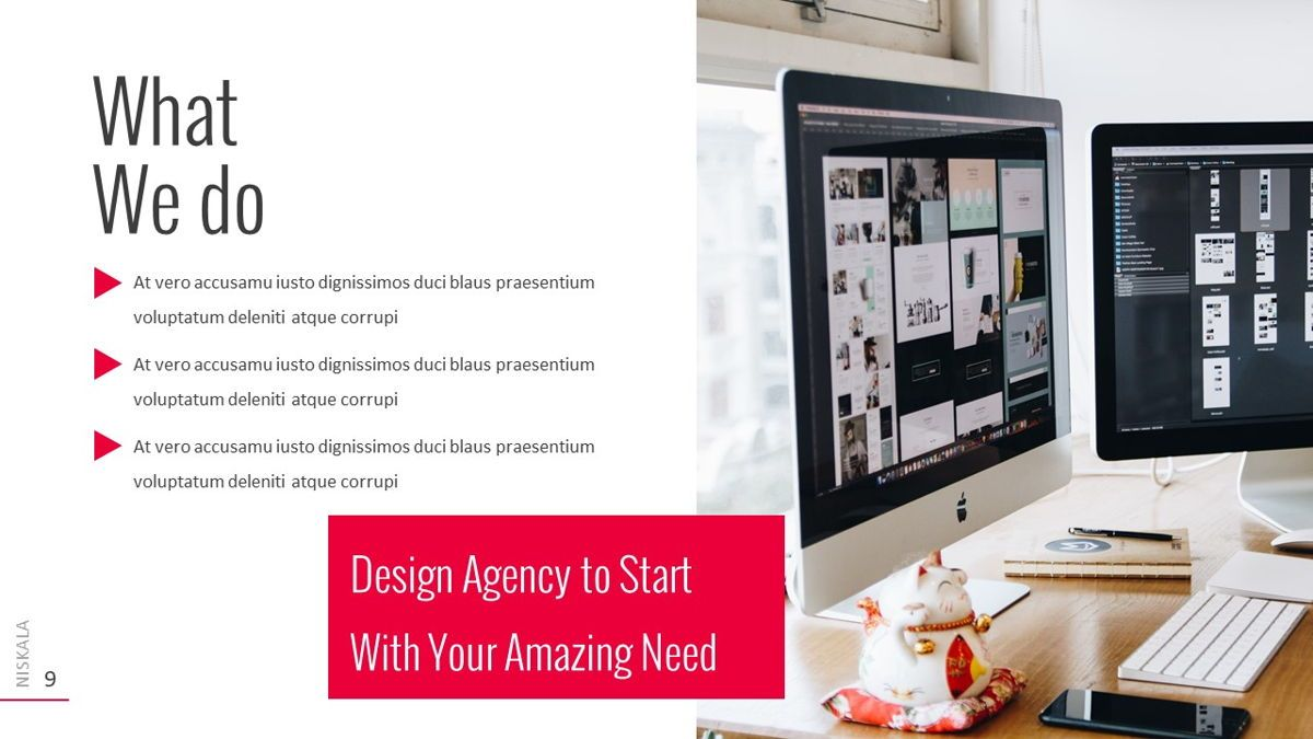 Niskala - Multipurpose Powerpoint Template, Slide 10, 06515, Data Driven Diagrams and Charts — PoweredTemplate.com