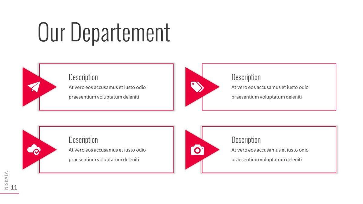 Niskala - Multipurpose Powerpoint Template, Slide 12, 06515, Data Driven Diagrams and Charts — PoweredTemplate.com