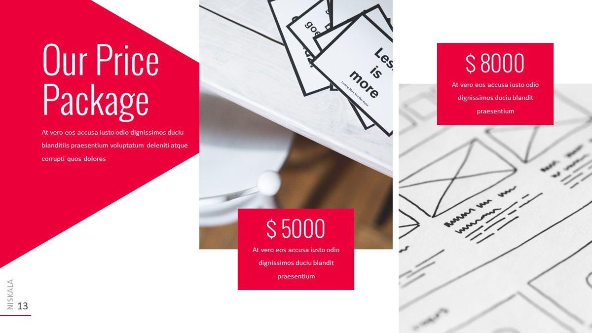 Niskala - Multipurpose Powerpoint Template, Slide 14, 06515, Data Driven Diagrams and Charts — PoweredTemplate.com
