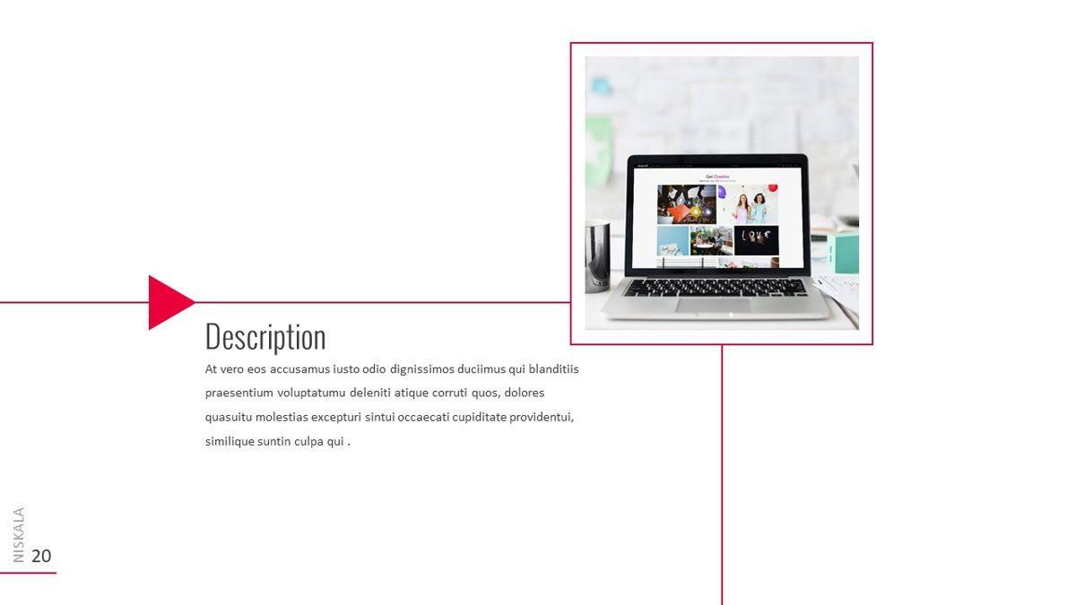 Niskala - Multipurpose Powerpoint Template, Slide 21, 06515, Data Driven Diagrams and Charts — PoweredTemplate.com