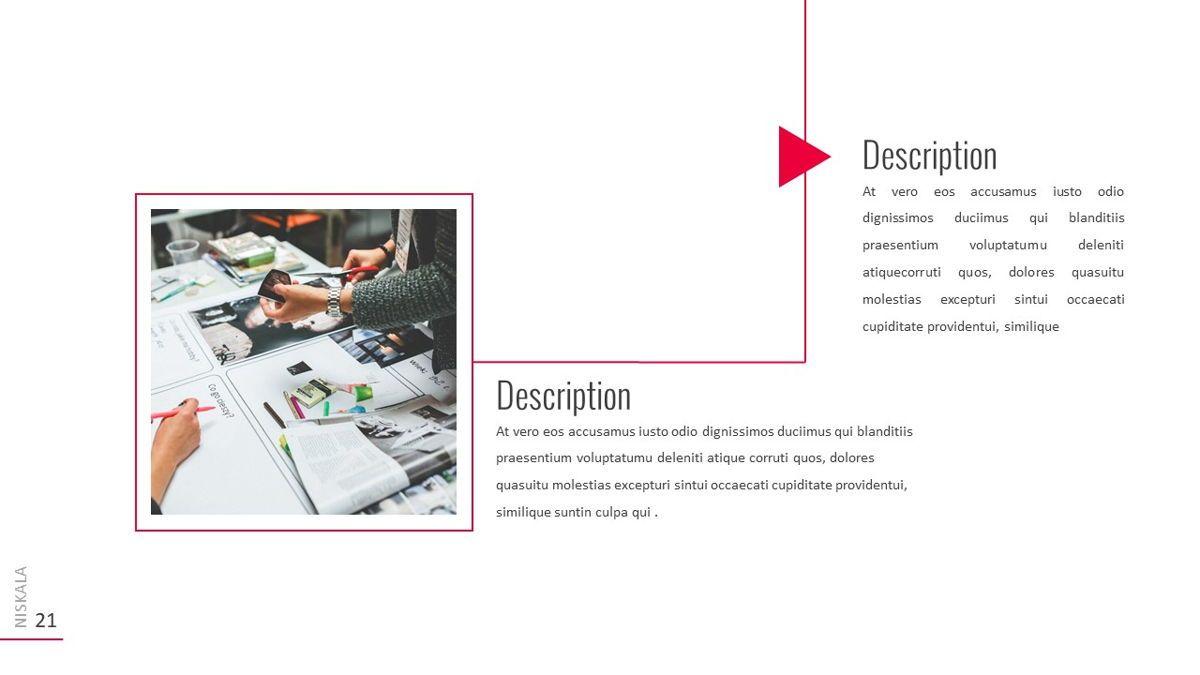 Niskala - Multipurpose Powerpoint Template, Slide 22, 06515, Data Driven Diagrams and Charts — PoweredTemplate.com