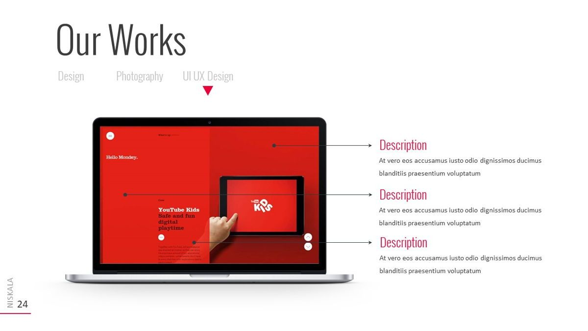 Niskala - Multipurpose Powerpoint Template, Slide 25, 06515, Data Driven Diagrams and Charts — PoweredTemplate.com