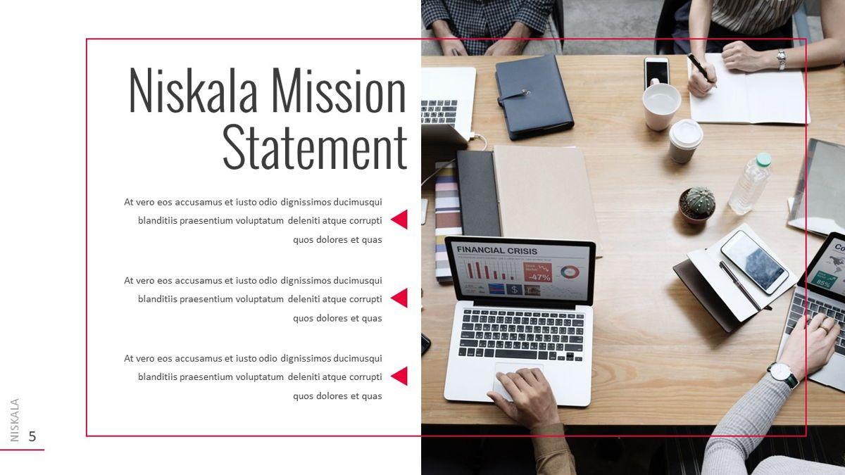Niskala - Multipurpose Powerpoint Template, Slide 6, 06515, Data Driven Diagrams and Charts — PoweredTemplate.com