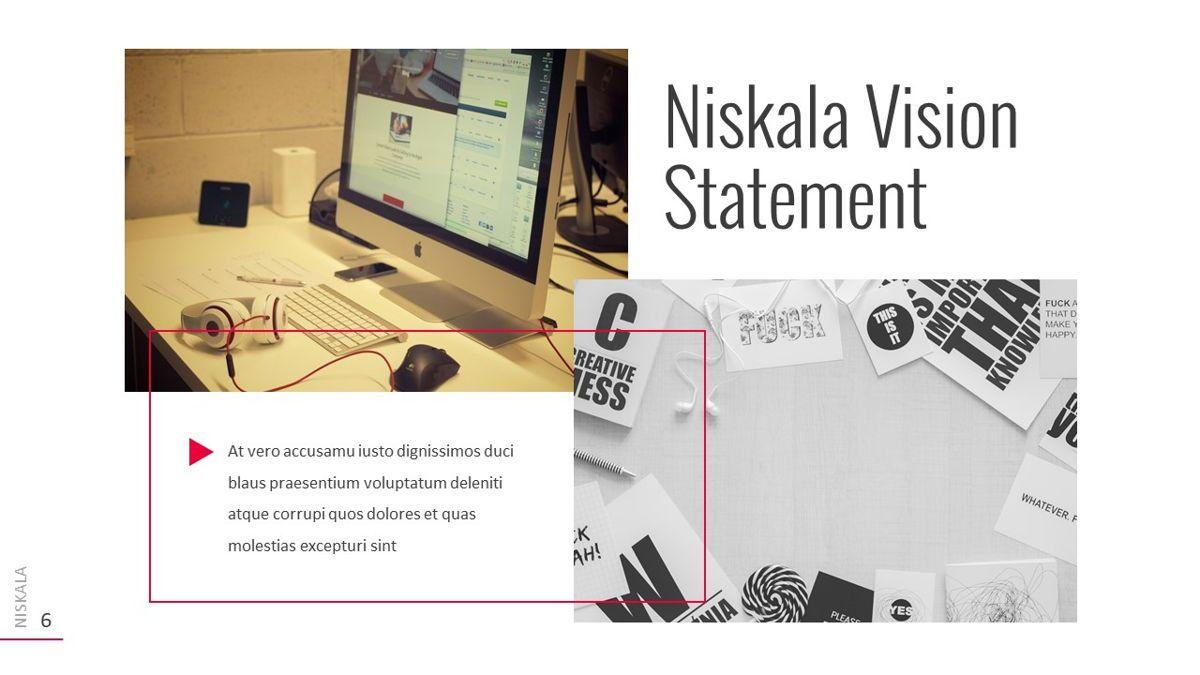 Niskala - Multipurpose Powerpoint Template, Slide 7, 06515, Data Driven Diagrams and Charts — PoweredTemplate.com