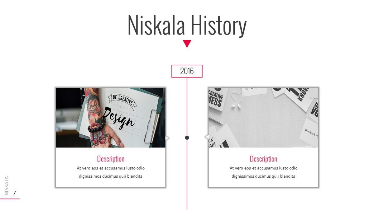 Niskala - Multipurpose Powerpoint Template, Slide 8, 06515, Data Driven Diagrams and Charts — PoweredTemplate.com