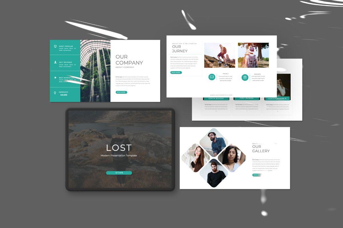 Lost Business Keynote, Slide 2, 06517, Presentation Templates — PoweredTemplate.com