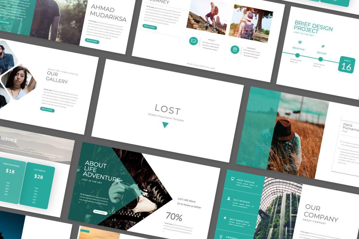 Lost Business Keynote, Slide 3, 06517, Presentation Templates — PoweredTemplate.com