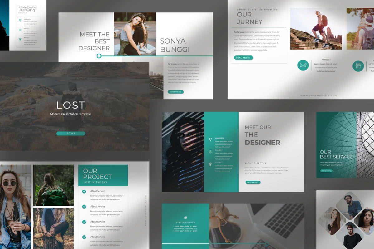 Lost Business Powerpoint, Slide 10, 06518, Presentation Templates — PoweredTemplate.com
