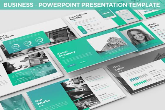 Business Models: Business - Powerpoint Presentation Template #06519