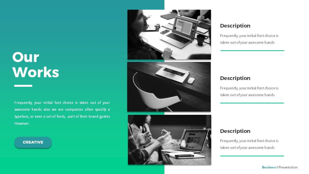Business - Powerpoint Presentation Template, Slide 13, 06519, Business Models — PoweredTemplate.com