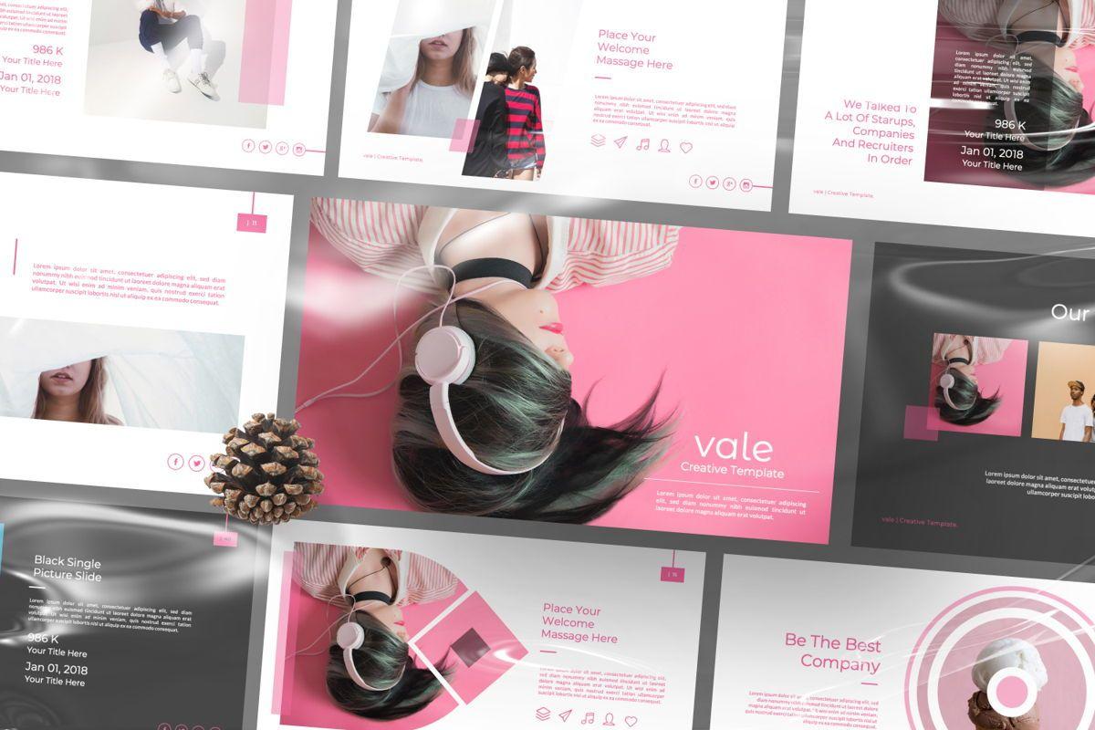 Vallery Business Google Slide, 06520, Presentation Templates — PoweredTemplate.com