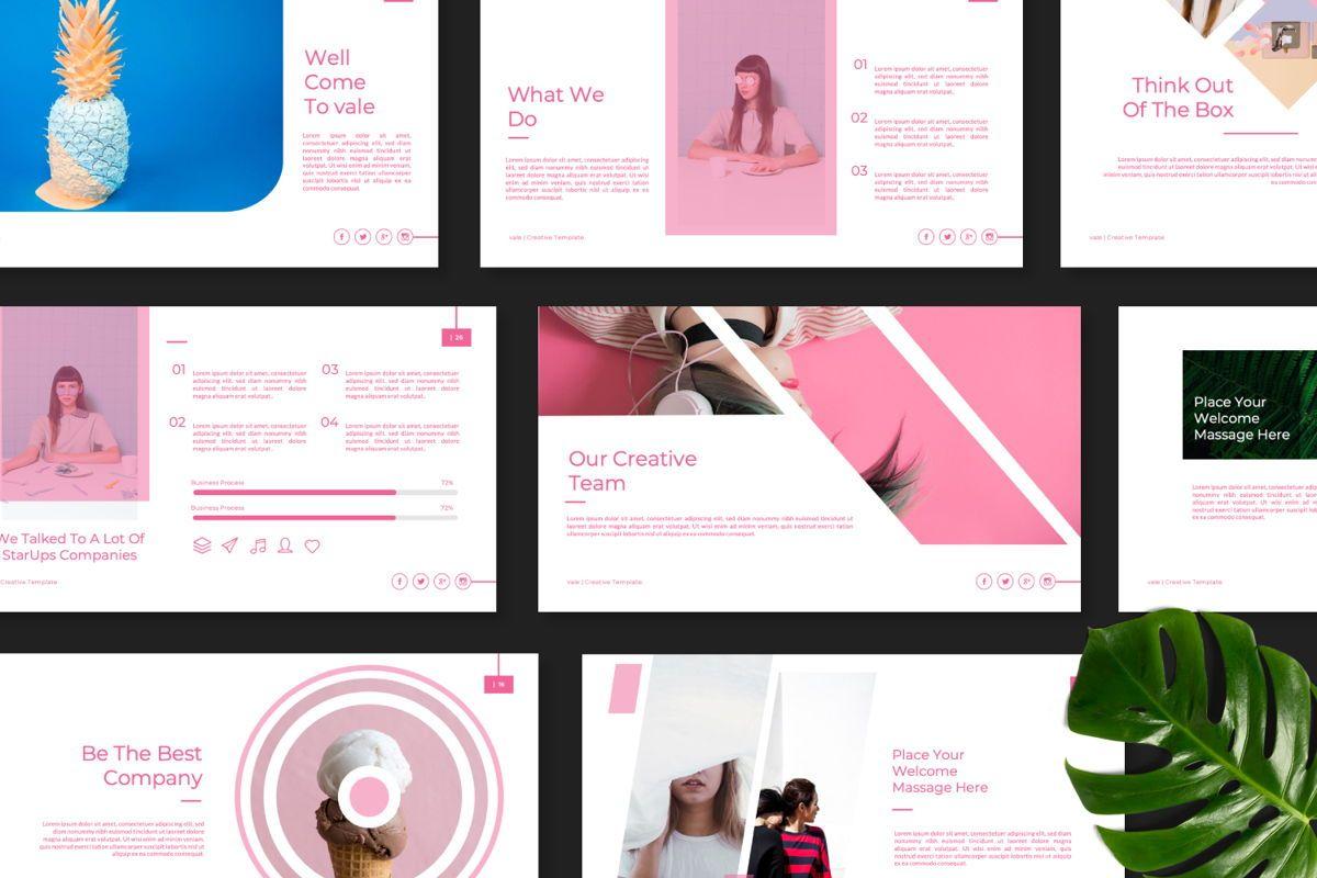 Vallery Business Google Slide, Slide 10, 06520, Presentation Templates — PoweredTemplate.com