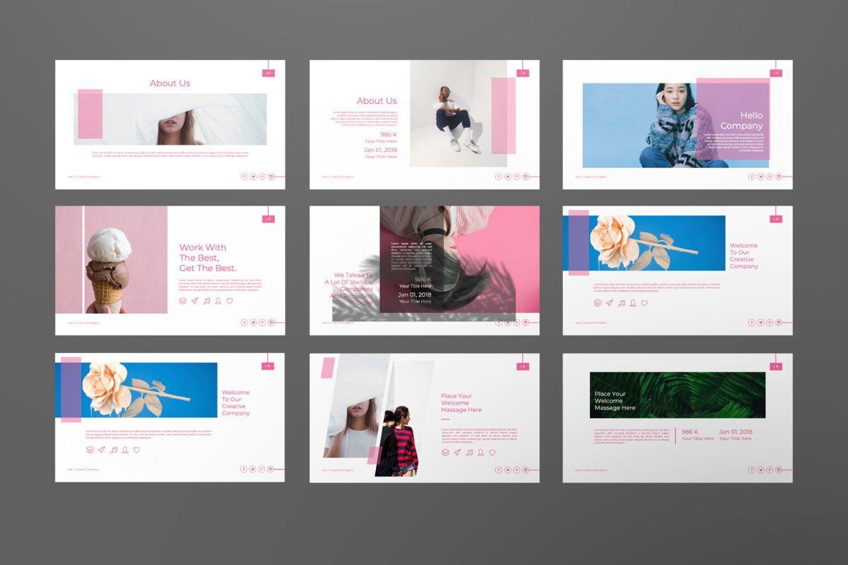 Vallery Business Google Slide, Slide 3, 06520, Presentation Templates — PoweredTemplate.com