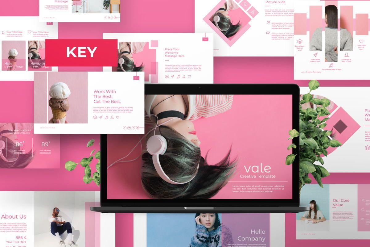 Vallery Business Keynote, 06521, Presentation Templates — PoweredTemplate.com
