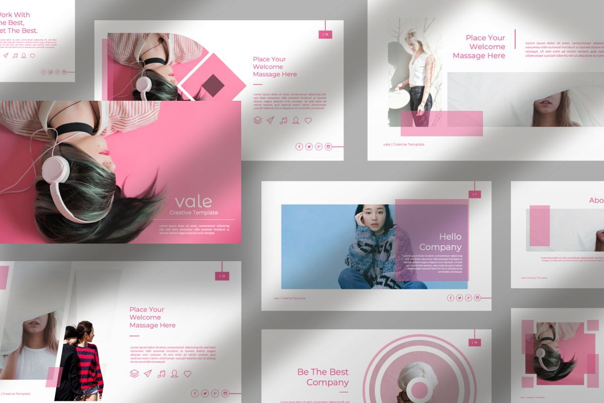 Vallery Business Keynote, Slide 12, 06521, Presentation Templates — PoweredTemplate.com