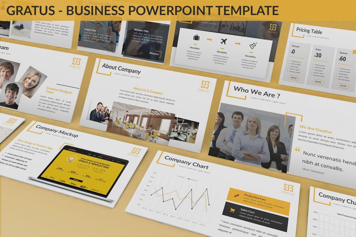 Gratus - Business Powerpoint Template, 06523, Business Models — PoweredTemplate.com