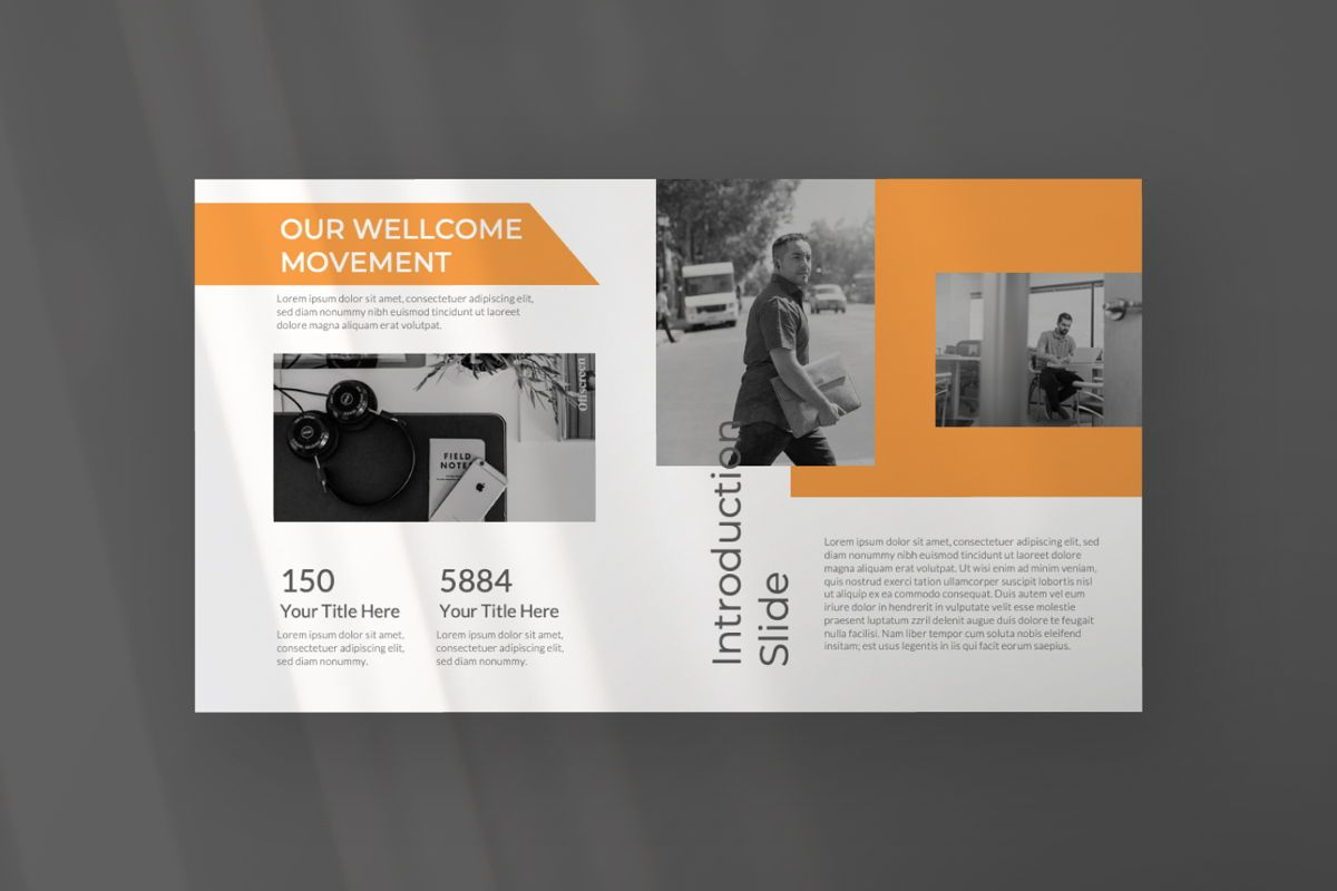 Movement Creative Powerpoint, Slide 5, 06525, Presentation Templates — PoweredTemplate.com