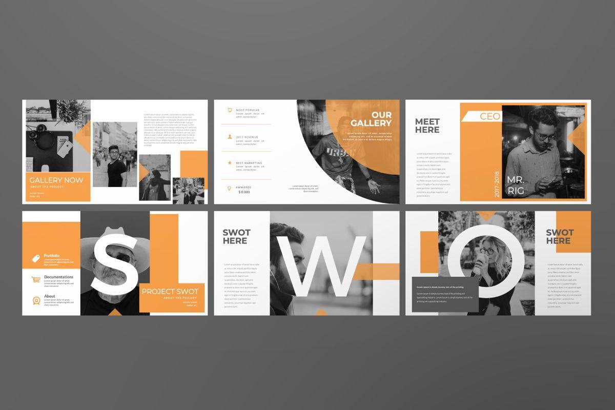 Movement Creative Powerpoint, Slide 6, 06525, Presentation Templates — PoweredTemplate.com