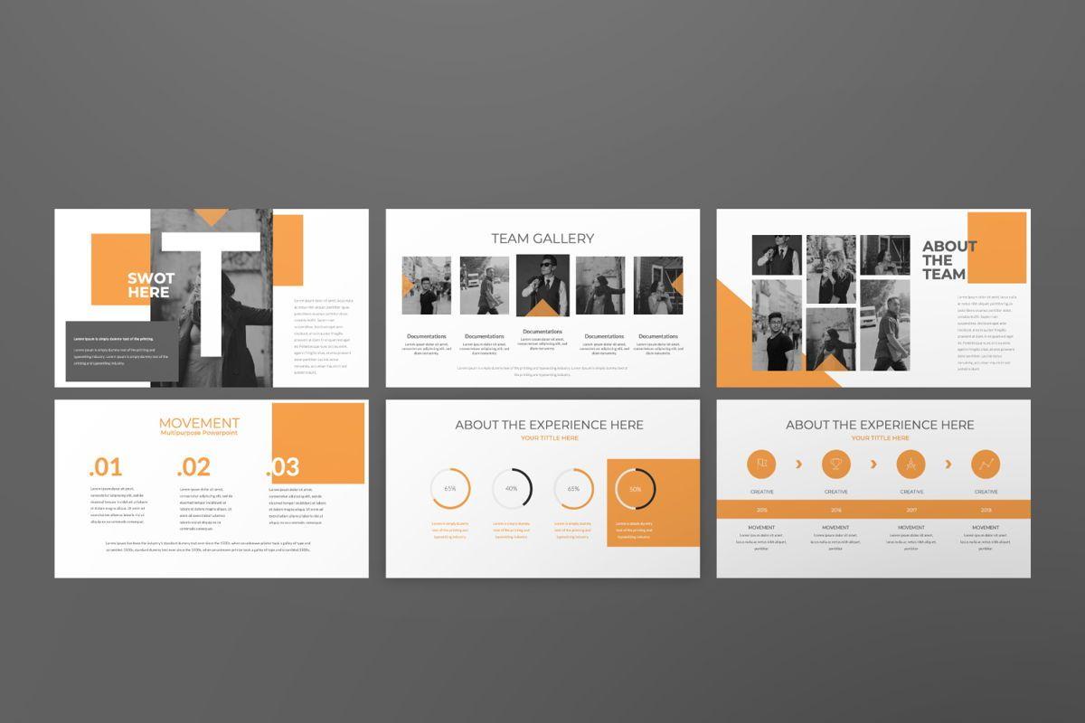 Movement Creative Powerpoint, Slide 7, 06525, Presentation Templates — PoweredTemplate.com