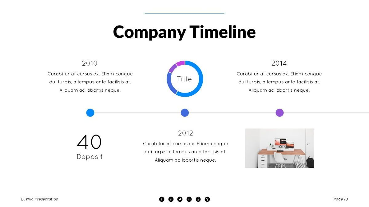 Buznic - Business Powerpoint Template, Slide 11, 06526, Business Models — PoweredTemplate.com